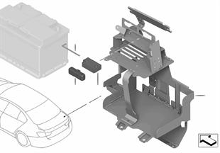 Podstawa pod akumulator