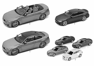 BMW Miniatures — BMW M4 Series 14/16