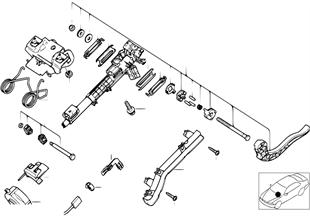 Stuurkolom-verstelbaar/onderdelen