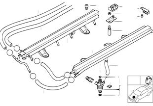 Valvulas//conductos de equipo d.inyecc.