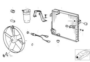 Condensatore/ventilatore/bombola essic.