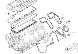Blocco cilindri/pezzi montabili