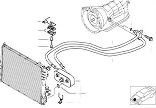 오일쿨러,자동변속기,A5S 325Z
