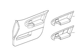 Inserção Individual da porta dianteira