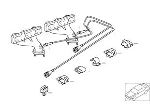 Piezas de montaje de sonda lambda