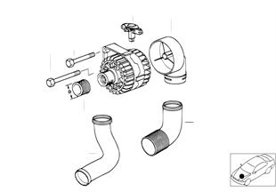 Generator Einzelteile 90A Bosch