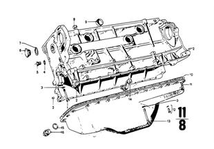 Couvercle de carter-moteur