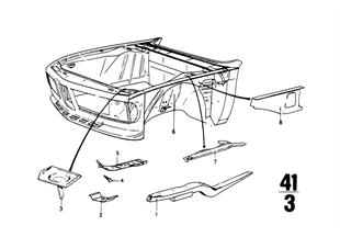Vorderbau-Motorträger