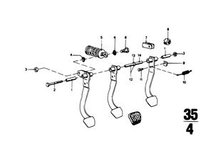 페달-마운팅 브래킷