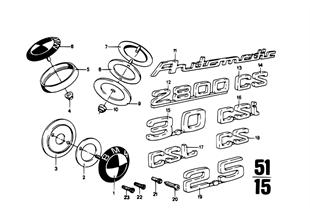 Embleme / Schriftzüge