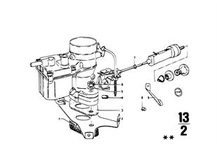 Carburador — peças adicionais