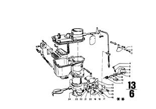 Pieces de carburateur