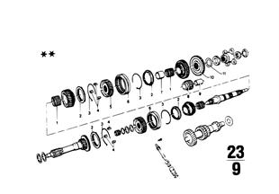 Getrag 242 Cz. zesp kół/Zest. naprawcze