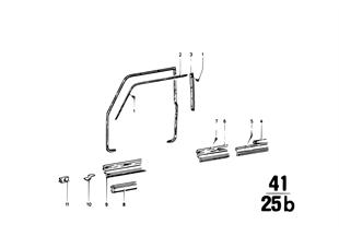 Voorportier-ruitframe/aanbouwdelen