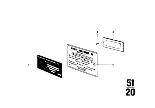 Type plate / notice label