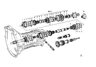 5 速 Sport T/M 個別部品