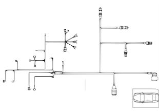 引擎導線束 變速箱模塊