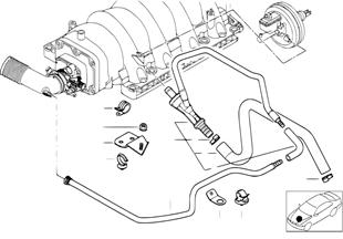 Motore comando sottopressione