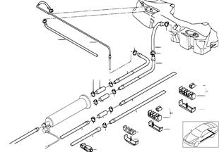 燃料ライン/固定部品