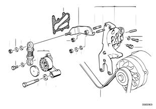 オルタネーター/ベーン ポンプ用ベルト