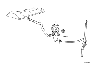 曲軸箱通風/油分離器