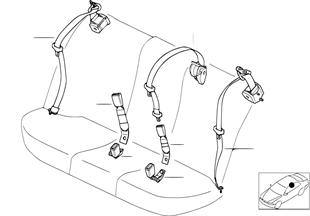 Cintura d.sicurez.posteriore