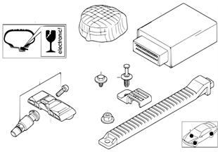 Tire pressure control (RDC) — ctrl unit