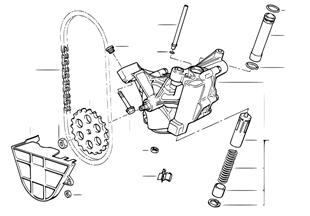 モーター付オイル供給/オイル ポンプ