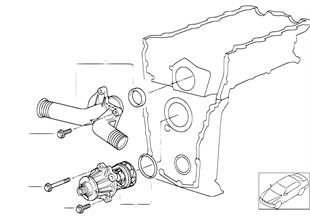 冷却系-ウォーター ポンプ/サーモスタット