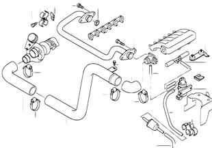 흡기다기관-과급공기덕트/EGR 장치
