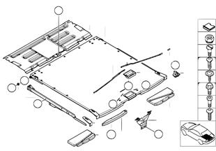 Podlaha ložné plochy vysouvací