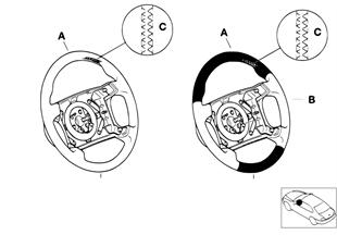 Inidiv. M volante deport. airbag SA 710
