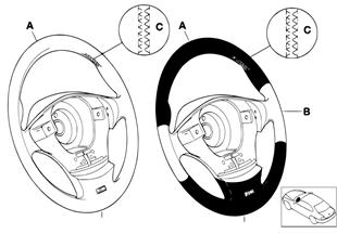 Individual σπορ τιμόνι M αερόσακ. SA 710