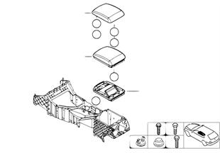 Подлокотник на центральной консоли