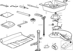 Bordwerkzeug/Werkzeugkasten