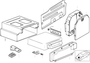 DME カバーおよび固定部品