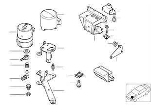DSC 預增壓泵/傳感器/安裝件