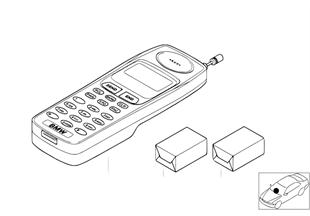 Dodatečná sada autotelefon