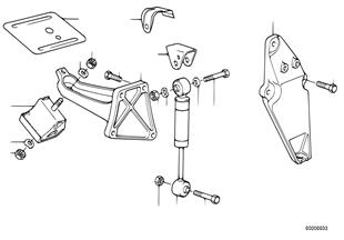 Βάση ανάρτ.κινητήρα/αποσβεστήρ.κινητήρα