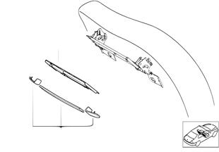 Individualholz Rückwand Tisch/Leisten