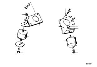 Motoraufhängung/Motordämpfer