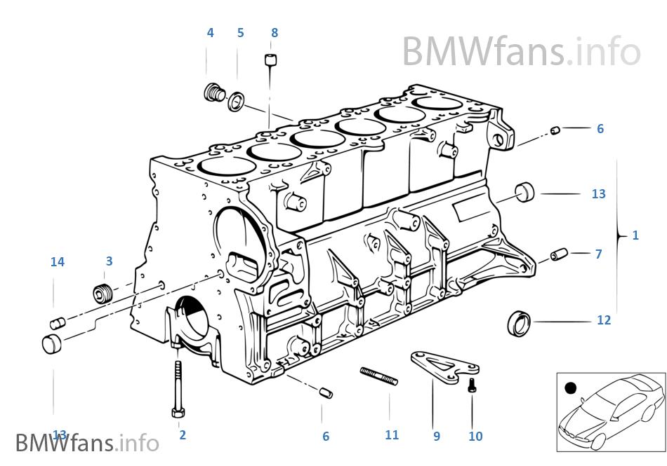 bmw e36 m52 engine diagram