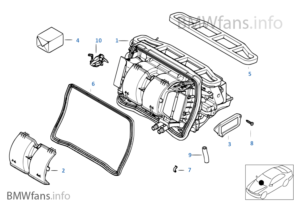 bmw x3 air conditioning diagram