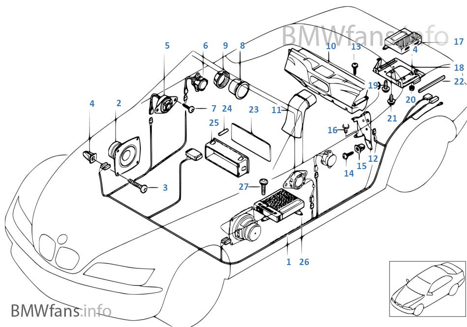 Wiring Diagram Bmw E36 Harman Kardon - Wiring Diagram Read on