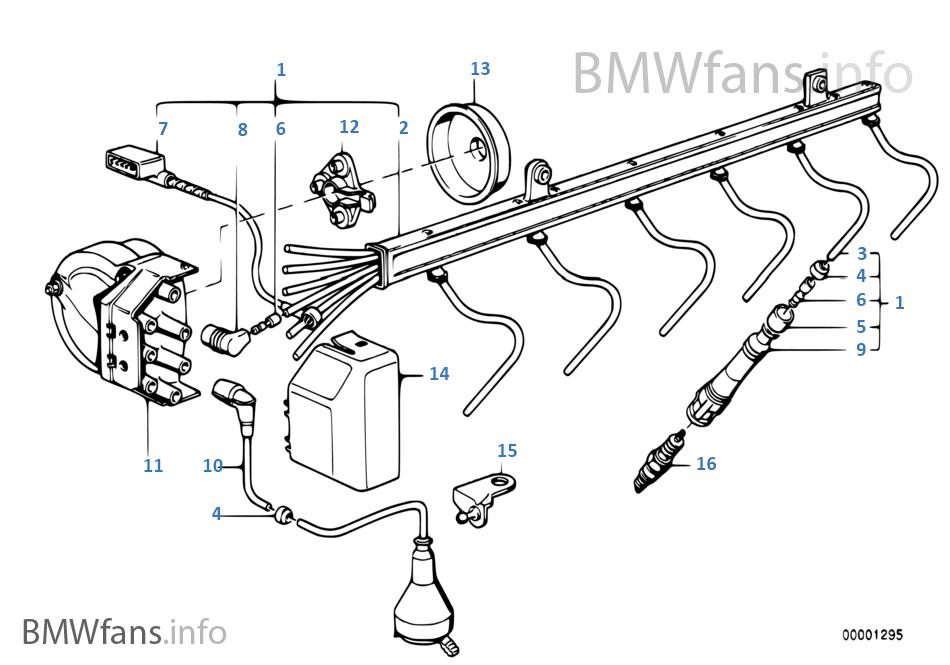 ignition wiring/sparkplug | bmw 7' e38 750il m73n usa  bmwfans.info